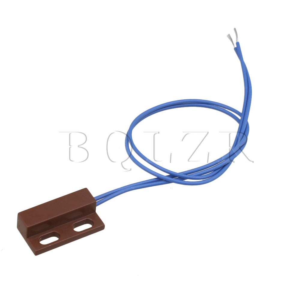 BQLZR AC110-220V NC Magnetic Door Window Reed Switch Normally Closed Magnetic Door Contacts Switch the proximity switch tl n15my2 normally closed ac two wire 220v 15mm