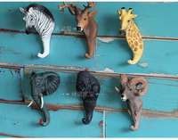 American retro animal key hook. Wall act the role ofing. Hook