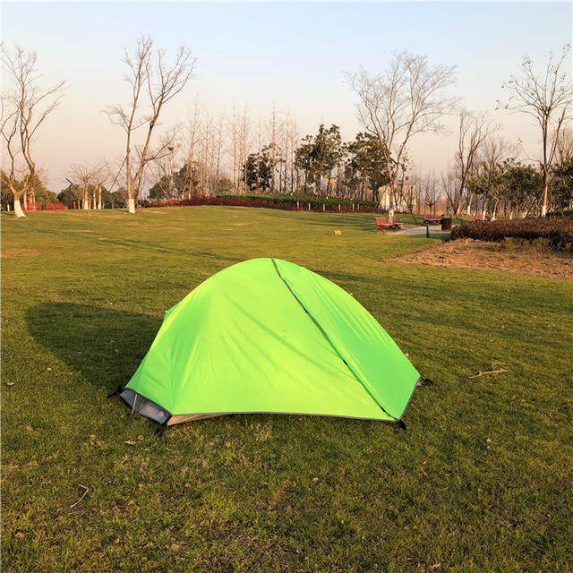 High-end Double Layer Ultralight Single Person Backpacking Tent CZX-236 Ripstop waterproof & Aliexpress.com : Buy High end Double Layer Ultralight Single ...