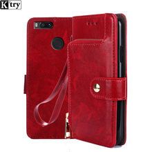 K'try Leather Flip Case for Xiaomi Mi A1 Wallet Funda Book Cover for Xiaomi Mi A1 Global Version Xiomi MiA1 A 1 5X 4GB 5.5