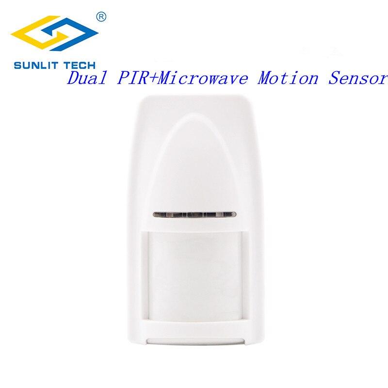 1/2/6/10 Stücke Wireless Dual Pir Mikrowelle Detektor Alarm Systerm Für Home 433 Mhz/ 868 Mhz Pet Immune Motion Sensor Für Fokus System Sensor & Detektor