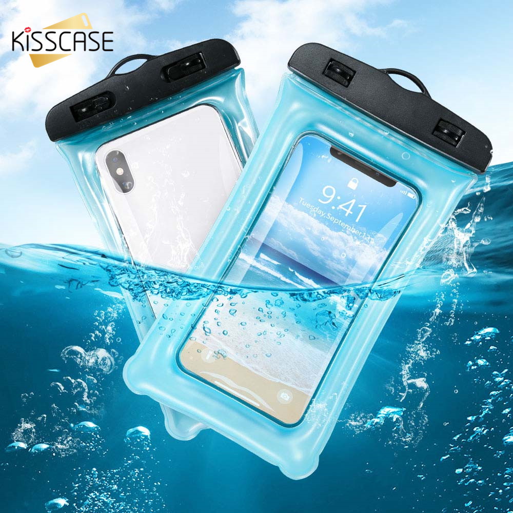 KISSCASE Universal Waterproof <font><b>Case</b></font> For Redmi Note 7 5 K20 Pro K20 <font><b>Water</b></font> <font><b>proof</b></font> <font><b>Phone</b></font> <font><b>Case</b></font> For Samsung Galaxy A70 A50 A40 A30 A60 image