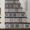 Creativo Stile Europeo 3D Scala Adesivi Muro di Piastrelle in Bianco E Nero Adesivi per Soggiorno camera Da Letto Bagno Complementi Arredo Casa FS030