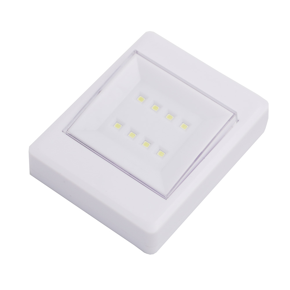 8 led cob light wall night lamp cob led wall switch