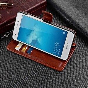 Image 4 - Fundas Huawei Honor 5C porte carte housse pour Huawei Honor 5C Pu cuir étui de téléphone portefeuille housse à rabat qualité étui sacs