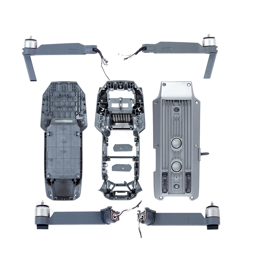 Whole Set Replacement Parts for DJI Mavic Pro Drone Right Left Front back Rear Motor Arms Upper Bottom Shell Middle Frame dji mavic motor arm body shell front back left right motor arm for mavic pro original accessories parts
