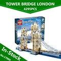 En Stock Envío Gratuito Nueva LEPIN 17004 4295 unids London bridge Modelo Kits de Construcción de Ladrillo Juguetes Compatible 10214