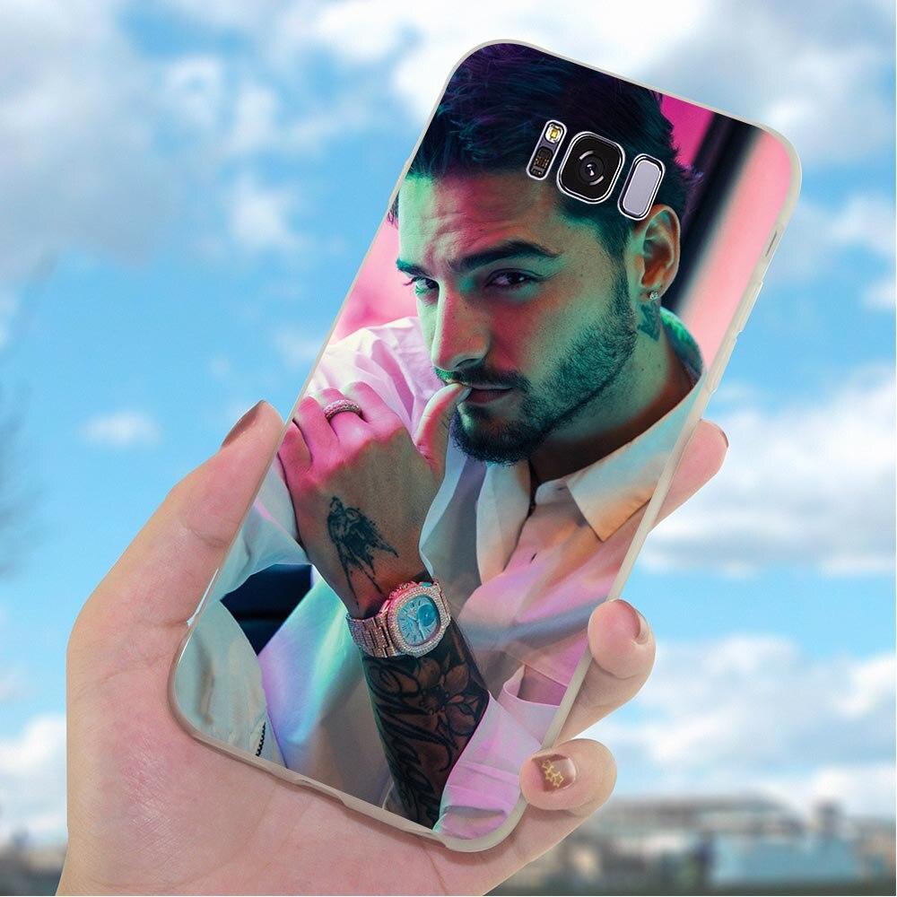 Чехол для телефона Galaxy A5 2017, чехол A6 Plus A7 A8 A9 A10 A20 A30 A40 A50 A70 Samsung J3 J5 J6 J7 EU Maluma Luis Fonci
