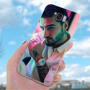 Coque de téléphone pour Galaxy A5 2017 housse A6 Plus A7 A8 A9 A10 A20 A30 A40 A50 A70 Samsung J3 J5 J6 J7 EU Maluma Luis Fonci(China)