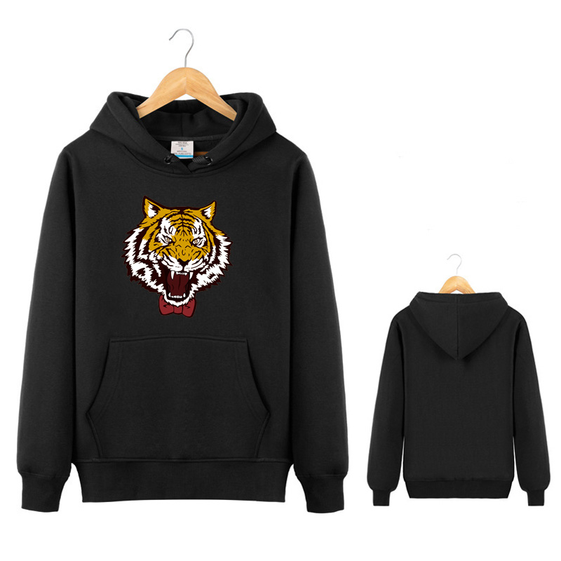 Anime Yuri on Ice Hoodie Yuri Plisetsky Cosplay Yuri!!! on Ice black tiger Sweatshirt Costume