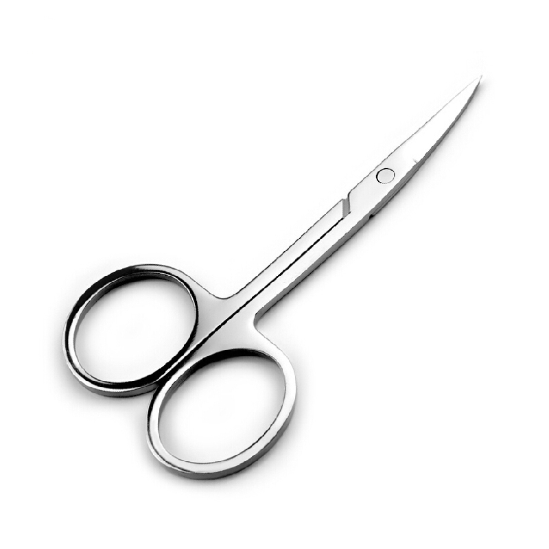 Beauty Tool Eyebrow Scissors Trimmer Cuticle Cutter Stainless Steel Professional Hair Remover Tip Eyebrow Makeup Tool