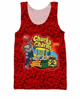 Chucky Charms Tank Top Chucky Of Child S Play And Lucky Charms Sexy Tees Summer Style