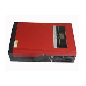 Image 5 - 5000W saf sinüs dalgası güneş hibrid invertör MPPT 80A GÜNEŞ PANELI şarj cihazı ve AC şarj aleti için hepsi bir arada Max 4000W 500V güneş girişi