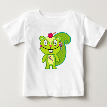 HAPPY TREE FRIENDS CANDY KILLS T Shirt children Tshirt Pure cotton breathable T - shirt boy Short Sleeve tshirt girls tshirt MJ