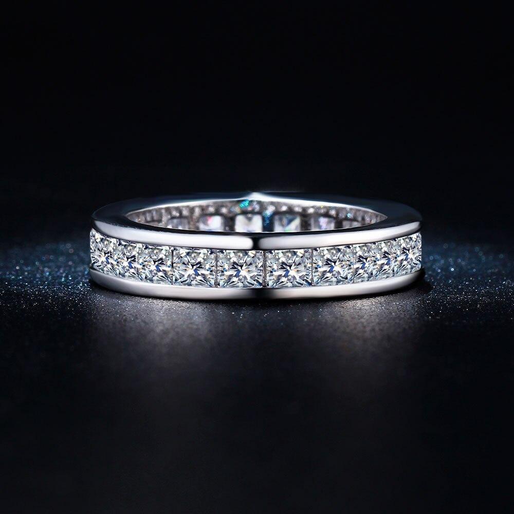 Наивысшего качества Круглый Круг перстни Женщины Обручальное Обручение Чешский Циркон ювелирные изделия Леди Мода Promise Ring