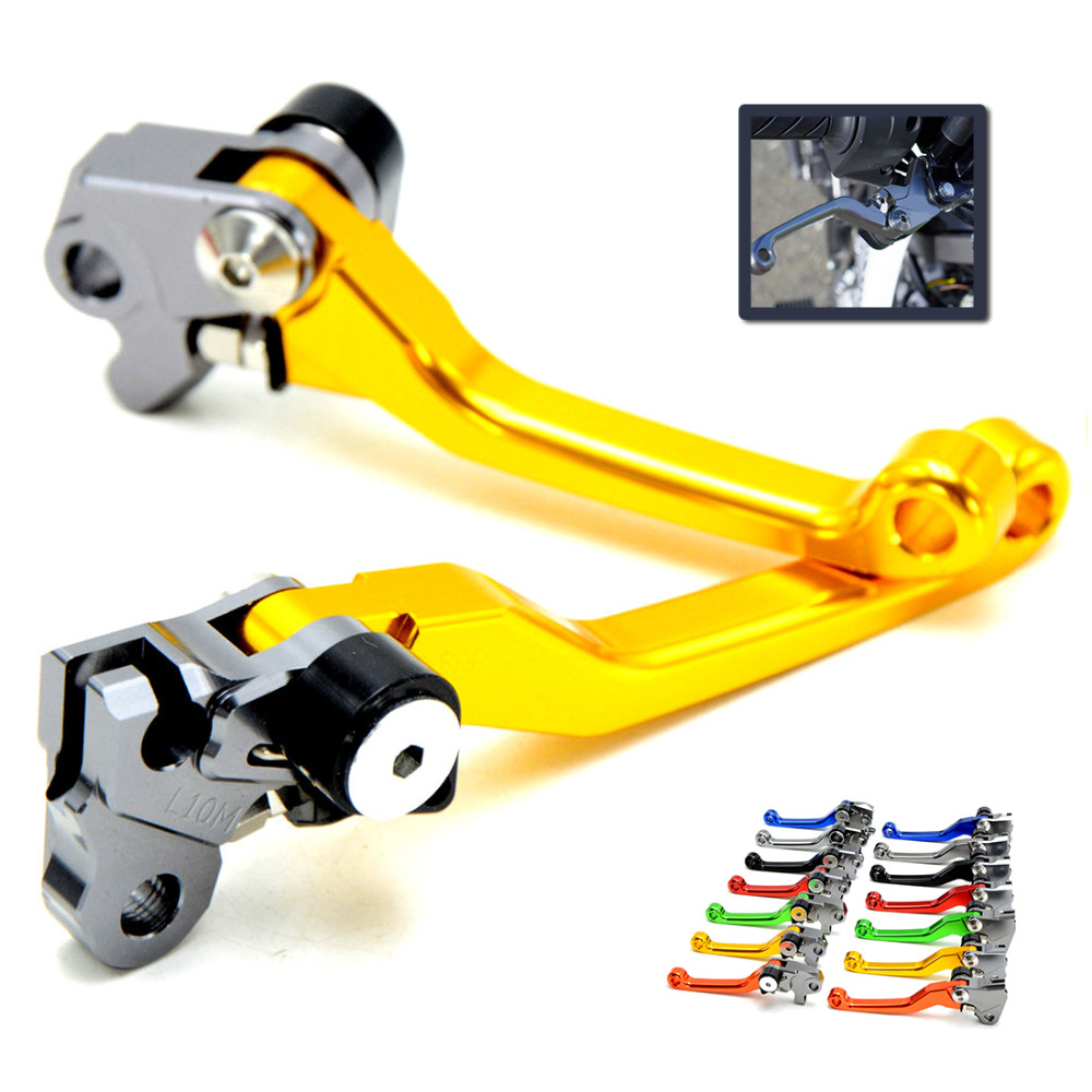CNC Dirt Bike Clutch Brake For Suzuki RMZ 450 RMZ 250 Motocross Off Road Pivot Racing Motorcycle CNC Brake Clutch Levers