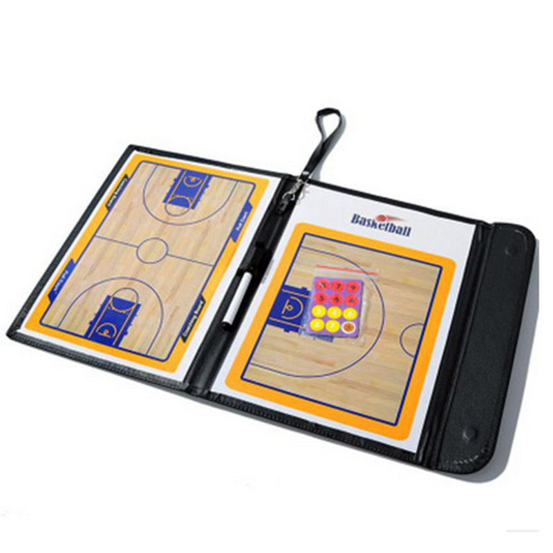 Basketball  Magnetic Tactic Board Foldable Strategy Clipboard 19ing