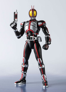 "Image 3 - ""Kamen Rider Faiz"" oryginalny BANDAI Tamashii narodów S.H. Figuarts SHF figurka Kamen Rider Faiz 20 Kamen Rider kopnięć Ver."