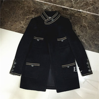 amazing winter coat women,super fashion women wool coat,elegant manteau femme hiver,unique spliced casaco feminino,abrigos mujer