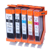 Computer Office - Office Electronics - PGI-450 CLI-451 Ink Cartridge For Canon PGI450 CLI451 PIXMA IP7240 MG5440 MG5540 MG6440 MG6640 MG5640 MX924 MX724 IX6840 Printer