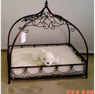 Wrought Iron Pet Bed Kennel Cat Litter Dog House Products Can Be Customized