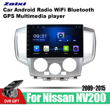 ZaiXi Android Car GPS Multimedia Player For Nissan NV200 2009~2015 car Navigation radio Video Audio WiFi Bluetooth