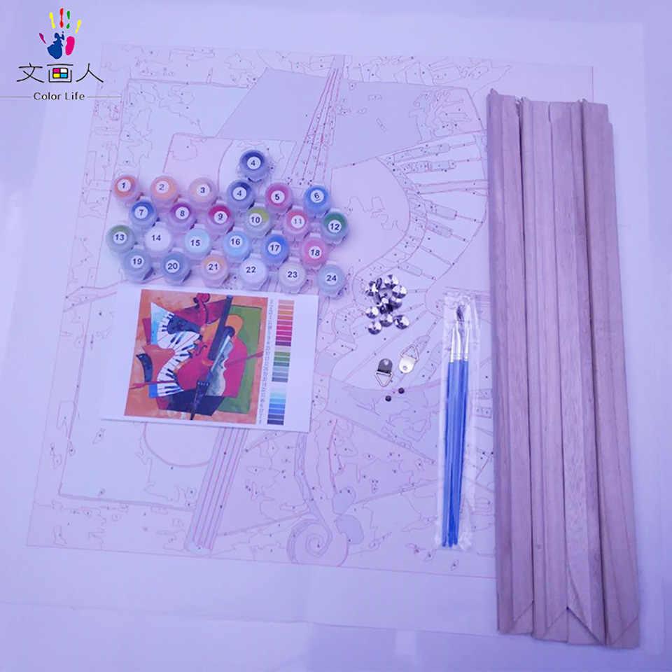 مارلين مونرو و أودري هيبورن أنيقة و مثير الإناث الصور لوحات ألوان الدهانات بواسطة أرقام مع ألوان قماش الرسم