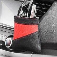 Storage-Bag Organizer Phone-Holder Pocket-Phone-Pouch Car-Key Air-Outlet