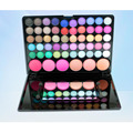 Professional 56 Cores de Sombra de Blush Maquiagem Definir Luminosa Smoky Eyeshadow Concealer Palette Beleza Cosméticos Kit