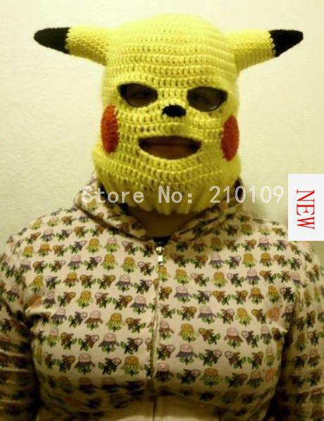 Mrkooky Handmade Funny Animal Cap Novelty Pikachu Hats Gag Party