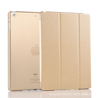 Fashion Golden Leather Case Cover For Ipad Air 9 7 Inch 3 Folding New Smart Cover