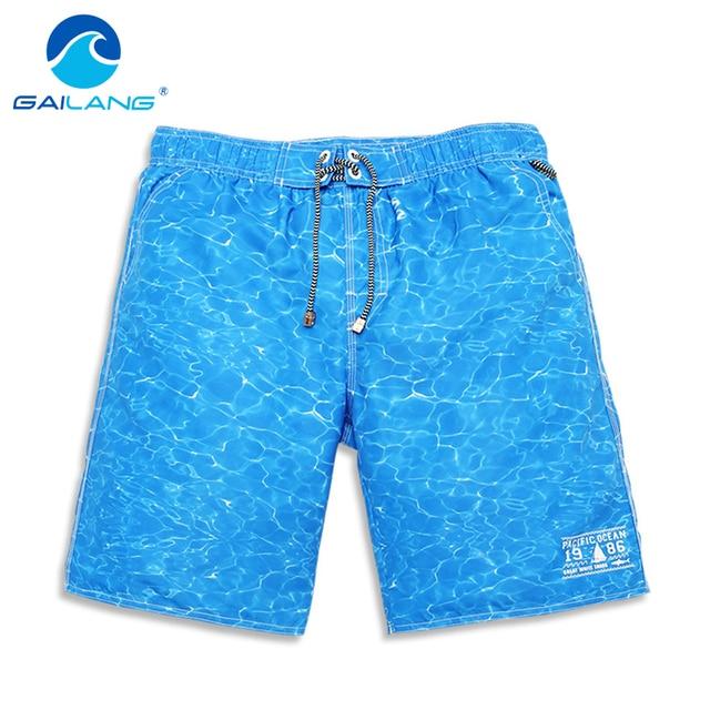 Gailang Marca Hombres pantalones Cortos de Playa Casuales Nueva Llegada Para Hombre Pantalones Cortos Ropa de Playa de Baño Trajes de Baño Verano Hombre Boxer Shorts Fashion