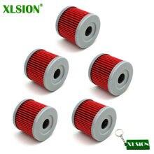 Xlsion filtro de óleo 5x, para yx150 yx160 z155 150cc 160cc 1p60 liventilador › loncina cb250 motor 150cc 200cc 250cc pit bike