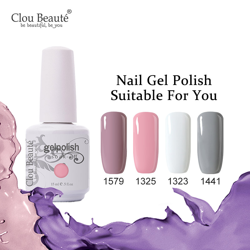 Ultra Nail Salon: Aliexpress.com : Buy Clou Beaute Color Nail Gel Lacquer UV