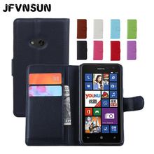 For Microsoft Nokia Lumia 625 Case Leather Flip Cover for Nokia Lumia 625 Case Fashion Card Slot Wallet Magnetic Stand Phone Bag(China)