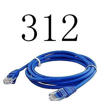 MLLSE 2017 CAT7 RJ45 Patch Ethernet cordon CAT6 LAN câble réseau haute vitesse 312 #