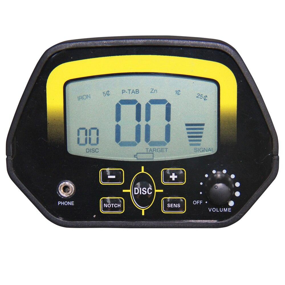 Md3030 portátil identificar detector de ouro de metal subterrâneo detector de fio de busca profissional com sensibilidade de alta qualidade - 5