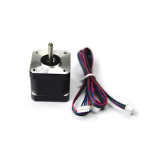 NEMA 17 3d принтер s шаговый двигатель с чпу шаговый двигатель 78 унций в/40mm шаговый двигатель/2.1A для 3d принтер запчасти