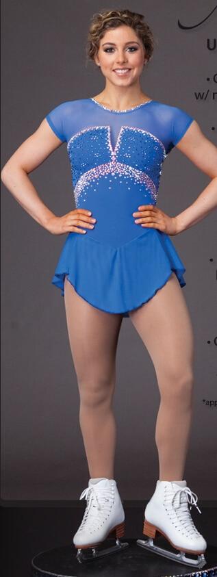 Ice łyżwiarstwo figurowe sukienka kobiety konkurencji łyżwiarstwo - Ubrania sportowe i akcesoria - Zdjęcie 1