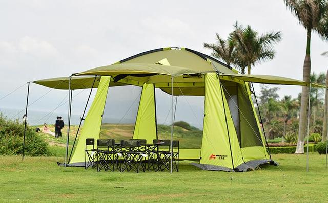 Outdoor Camping Hiking Beach Summer Tent UV Protection 8 10person Fully Sun Shade Quick Open