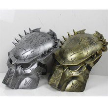 Warrior Mask Movie Theme Lonely Wolf Halloween Horror PVC Skull Head Tease Party Props Festive Supplies 1pc