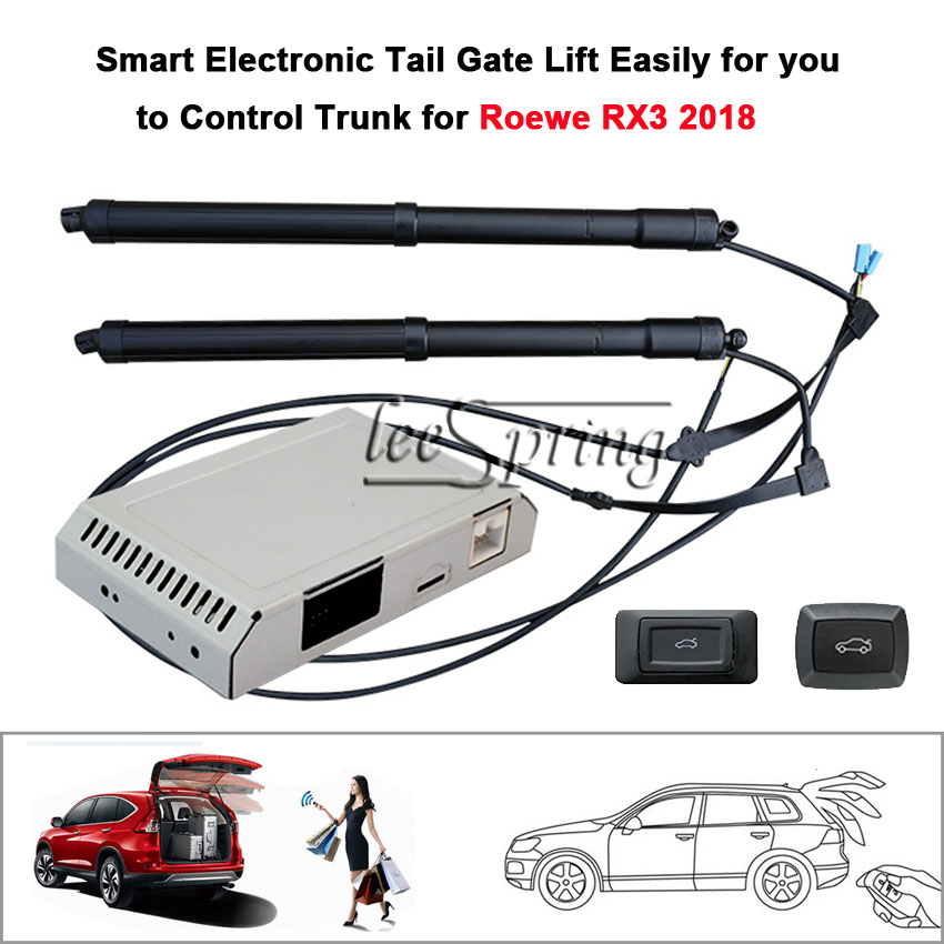 Electric Tail Gate Lift for Roewe RX3 2018 with Latch