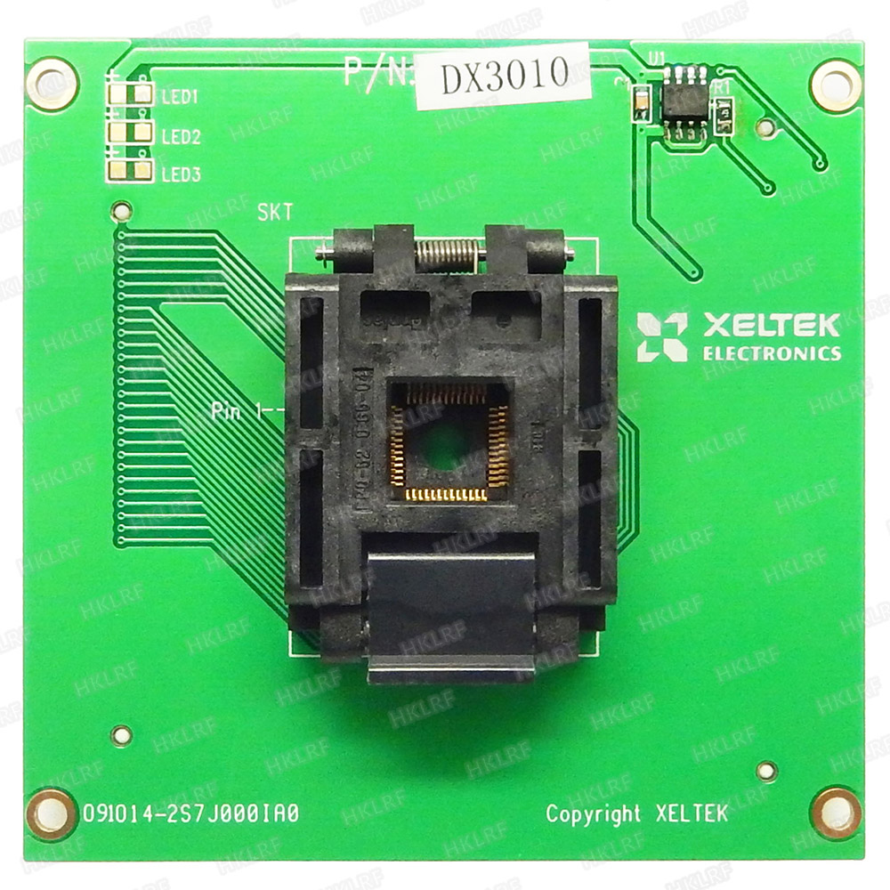 100 Original New XELTEK SUPERPRO CX3010 DX3010 Adapter For 6100 6100N Programmer CX3010 DX3010 Socket Free