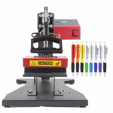 RB-P60 6 in 1 Pen Printing Machine Pen Press Machine Heat Press Machine Sublimation Printer Ball Pen Machine DIY Heat Transfer