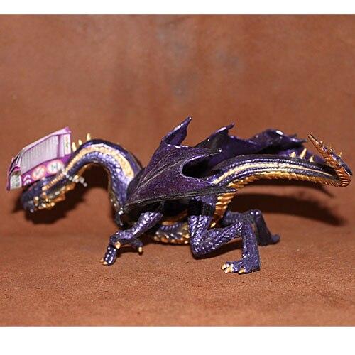 Pvc figure Mythes et Légendes Modèle Animal Jouets Scène Décorations En Plastique Flying Dragon Lézard Dragon Dragon de Feu