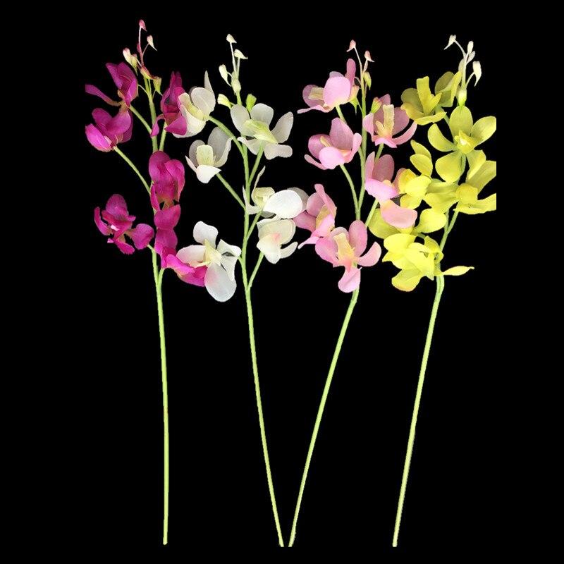 Wholesale 120pcs vanda phalaenopsis orchid silk real touch flower wholesale 120pcs vanda phalaenopsis orchid silk real touch flower artificial flower wedding flower floral party free shipping mightylinksfo