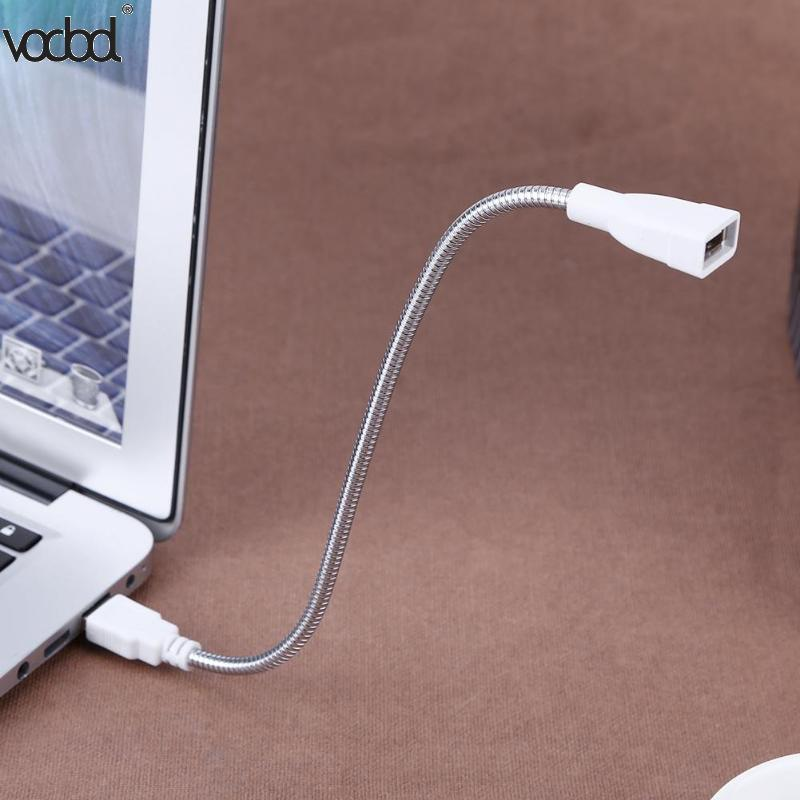 Image 5 - USB Female Adapter Cable Male to Female Extension Cable LED Light Adapter Cable Metal Hose for Portable Power Supply Notebook-in Computer Cables & Connectors from Computer & Office