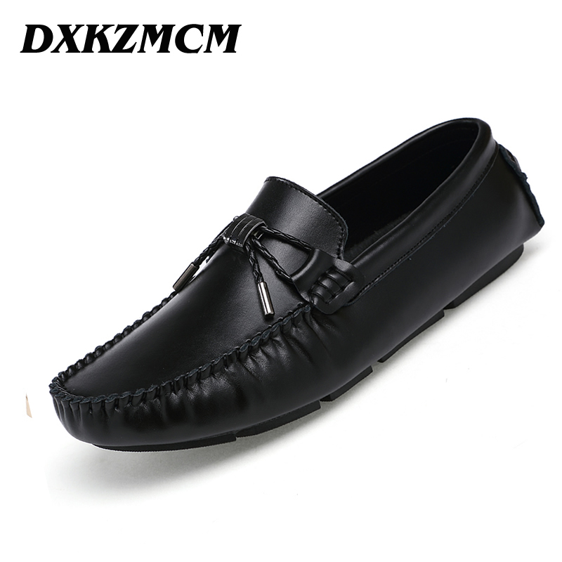 DXKZMCM Men Casual Shoes 2016 Fashion Men Shoes Leather Men Loafers Moccasins Slip On Men's Flats Loafers dxkzmcm men casual shoes fashion men shoes leather men loafers moccasins slip on men flats male shoes