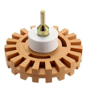 Image 2 - גומי אוניברסלי מחק גלגל רצועת גלגל פסים דו צדדי דבק דיסק ויניל מדבקות גרפי הסרת כלי תיקון כלי