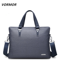 VORMOR Brand Men Bags Business LaptopTote Bag Briefcase Men PVC Leather Cross Body Handbag Shoulder Messenger